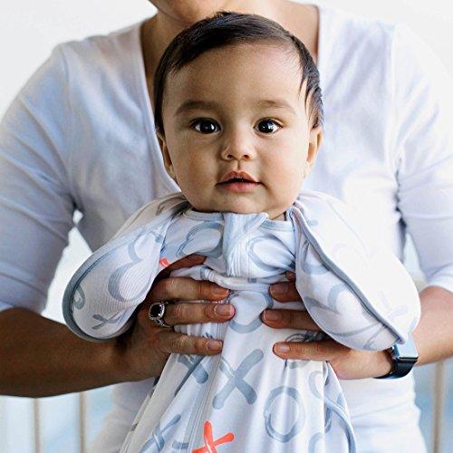Love to Dream Swaddle Up Designer Baby Wickeldecke Kisses–Kleine 6,5–ca. 6kg (3–6kg)