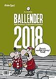 Ballender 2018: Der Fußball-Cartoon-Kalender