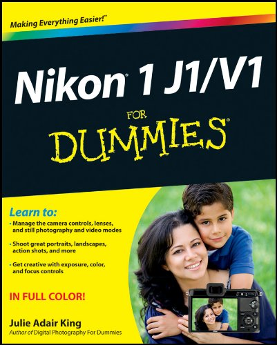 Nikon 1 J1/V1 For Dummies (English Edition)