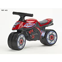 Falk 400 - Moto correpasillos, color rojo