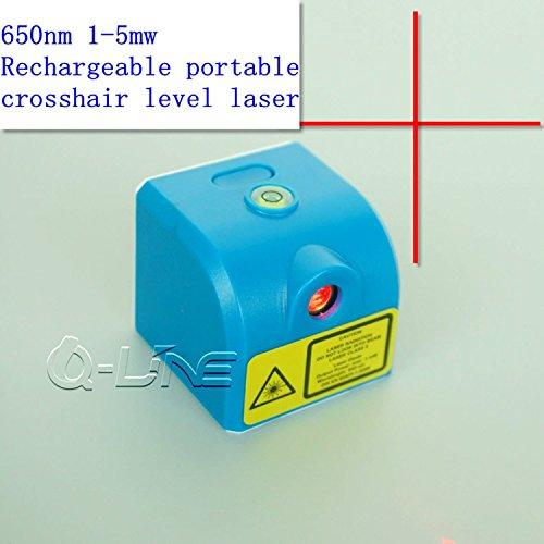650nm 1mw-5mw rot Kreuz Laser Modul 3,7V W/USB & wiederaufladbare tragbare Fadenkreuz Level