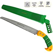 GRÜNTEK 295.500.300, GRÜNTEK Barracuda Garden Saw Quick Cut Hand Saw with hardened 3D-Teeth and plastic holster (DIY & Tools)