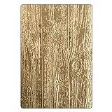Sizzix 3-D Texture Fades Troquel Carpeta de grabado Madera