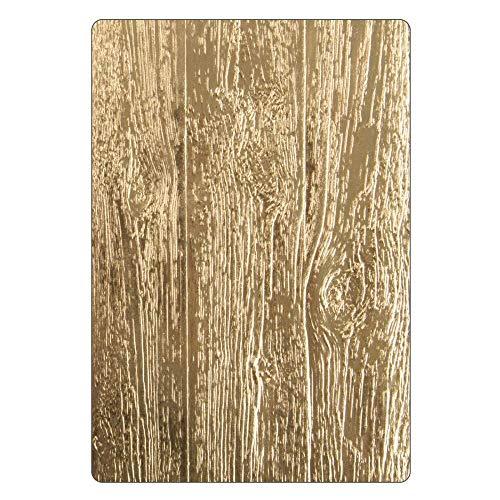 Regno Unito risparmia fino all'80% rivenditore all'ingrosso Sizzix 3-D Texture Fades Embossing Folder - 662718 Lumber by Tim Holtz