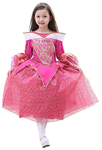 Eyekepper Dornroeschen Prinzessin Aurora Kostuem-Kleid-UP120cm (Dornröschen Aurora Kostüm)