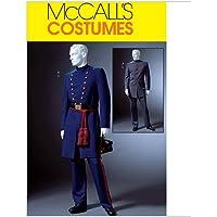 McCalls M4745 - Patrón de costura para confeccionar uniforme de la Guerra Civil alemana para hombre (2 modelos diferentes) [en inglés y alemán]