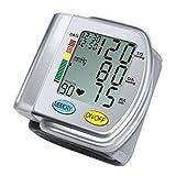 Tipo ChoiceMMed Auto tensiómetro de muñeca con hipertensiones Color Alert y Indicador de latido cardiaco Irregular