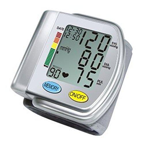 ChoiceMMed Auto Typ Handgelenk Blutdruckmessgerät mit Bluthochdruck Farbe Alert und Anzeige bei unregelmäßigem Herzschlag