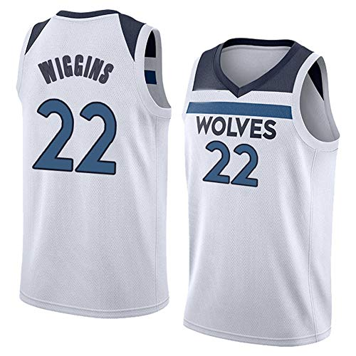 ZNMJW Timberwolves # 22 Andrew Jersey Basketballspiel Trainingsanzug Klassisches ärmelloses Outfit-L