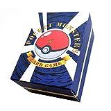 miss-an Pokemon Karten,Pokémon Karten Kartenspiel Sammelkarten(30 Verbünde Dich,50 Mega,20 Trainer,20 Ultra Beast GX) Pokemon Game Card