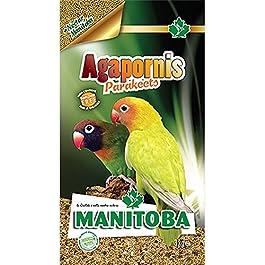 MANITOBA Mangime per uccelli agaporni parakeets kg. 3 – Alimenti uccelli