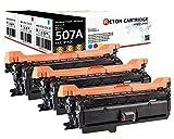 3 Original Reton Toner kompatibel zu CE401A CE402A CE403A für HP LaserJet Enterprise 500 color M551dn M551n M551xh M575dn M575f M575c M570dn M570dw