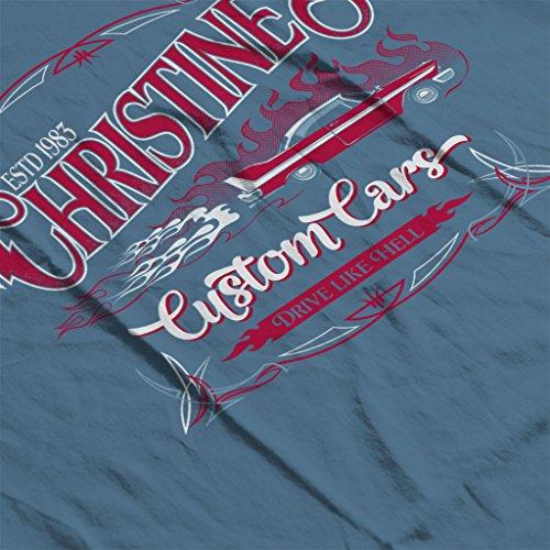 Stephen King Christines Custom Cars Men's Hooded Sweatshirt Indigo Blue