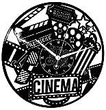 Instant Karma Clocks Horloge Murale en Vinyle Idée Cadeau Vintage Handmade Art Décoration Maison Film Cult Movie Cinéma Silencieux