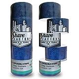 SHAVE FACTORY Nackenpapier 5 Rollen x 100 Streifen, 500 g
