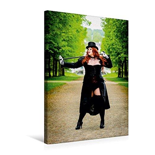 Premium Textil-Leinwand 50 cm x 75 cm hoch, XXL Girls   Wandbild, Bild auf Keilrahmen, Fertigbild auf echter Leinwand, Leinwanddruck: Sexy Übergrößen Frau im Kostüm (CALVENDO Menschen)