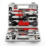 Femor-- Kit de Herramientas para Bicicleta, Juego Práctico de 48 Piezas con Multifunción para Reparación y...