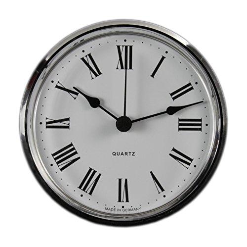 Cloxinelle Uhrwerk | Einsteckuhrwerk | Einbau-Uhr | Modellbau-Uhr | Quartz Uhrwerk | Ø 103 mm | Nr.8076