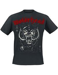 Motörhead Playing Card T-Shirt schwarz
