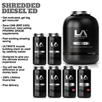 Get Shredded Diesel'ed Save £306 76% Saving on 7 Products for just £99!! including Complete, Norateen Extreme, Vasculator, Male Boost, 311 BCAA & 2x Norateen Heavyweight II Trial Size . ULTIMATE Muscle Building Stack as USED by Celebrity Trainer Shredded Diesel who has trained celebs Including Justin Timberlake, Madonna, P Diddy, Timbaland. Enhance Training Sessions, Get Motivated, Get Big, Get Muscular. You will see the Difference or Your Money back. Amazon Special Order Now