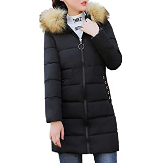 GH Mens Fleece Lined Puffer Outwear Winter Hooded Parkas Coats Jacket