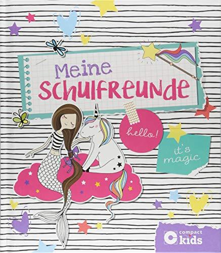 Meine Schulfreunde: Feen & Einhörner (Adressbuch-frauen)