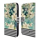 Head Case Designs Blumig Streifen Trend Mix Brieftasche