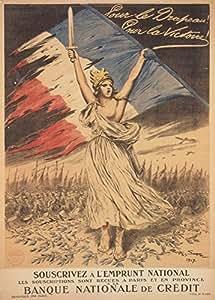franz sischer vintage ersten weltkrieges 1914 18 propaganda f r die flagge f r. Black Bedroom Furniture Sets. Home Design Ideas