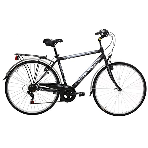 Bikevolution City Bike 28'' - Bicicleta de 6 velocidades para hombre