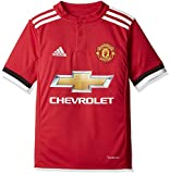 ADIDAS Kinder MUFC H JSY Y Trikot, real red s10/White/Black, 176