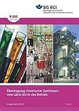 R 005 - Übertragung chemischer Synthesen vom Labor bis in den Betrieb (BGI 5002) (R-Reihe - Anlagensicherheit)