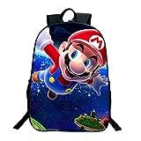 Cartoon Super Mario Bros Kinderrucksäcke Anime Schultasche Rucksack für Mädchen Jungen