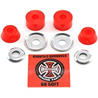 Independent Bushings Standard Cylinder Soft 88A 2x Set Red-O/S