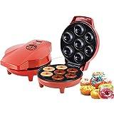 Beper 90.601 - Máquina para hacer donuts, color rojo