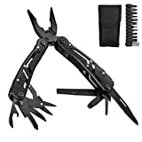 Aibesser Pocket Multi Tool Knife Pliers Stainless Steel, 11 in 1 Pocket Foldable
