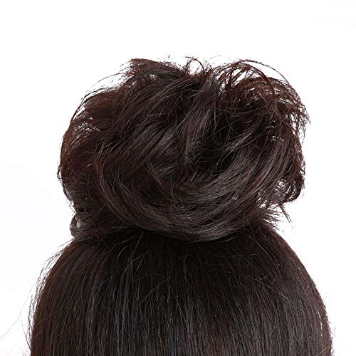 Hair Bun Extensions Welliges lockiges Haar Chignons Haarteil Haarteil Haarband Pferdeschwanz Extensions Welliges Gelockt,4 -