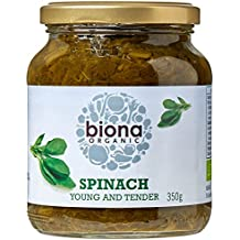 Biona Organic/ Demeter Spinach 350g (Pack of 6)
