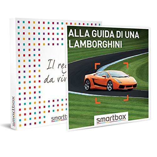 Smartbox - alla guida di una lamborghini - 85 attività sportive o di guida in pista su lamborghini, cofanetto regalo, avventura