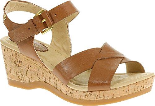 hush-puppies-eva-farris-womens-wedge-heels-sandals-brown-tan-leather-8-uk-42-eu