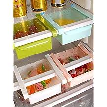 InddusHome Plastic Multi Purpose Storage Racks Tray (Pack of 4)(Multi-color)