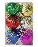 TRINITY CHRISTMAS 12pcs Multi Color Chri...