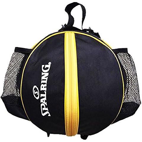 Moda frescos del baloncesto bolsa de entrenamiento bolsa de un solo hombro bolsa de Fútbol-Negro