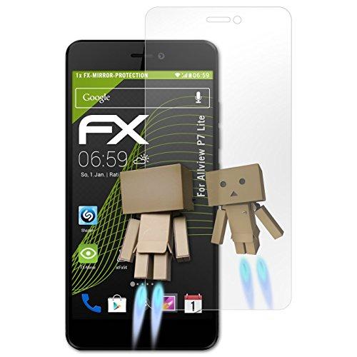 atFolix Bildschirmfolie kompatibel mit Allview P7 Lite Spiegelfolie, Spiegeleffekt FX Schutzfolie