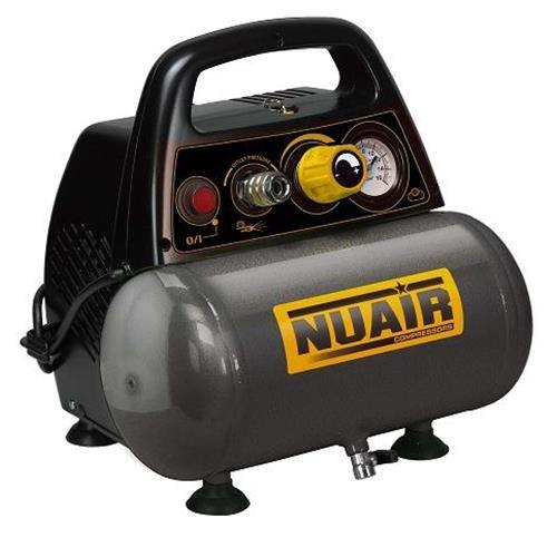 Nuair M126652 - Compresor de piston sin aceite new vento om195 1 5 hp