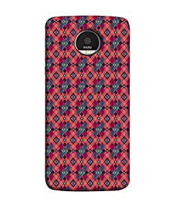 PrintVisa Designer Back Case Cover for Motorola Moto Z :: Motorola Moto Z Droid in USA (Abstract Illustration Shape Symbol Graphic Concept Vector)