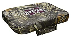 Ncaa Mississippi State Bulldogs Wise Collegiate Premium Cooler Seat Cushion For 45-quart Coolers, Max-4 Camo, 45-quart