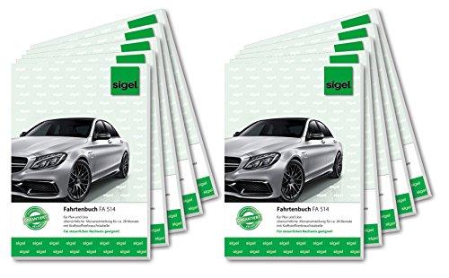 sigel-fa514-fahrtenbucher-fur-pkw-und-lkw-a5-32-blatt-10er-pack