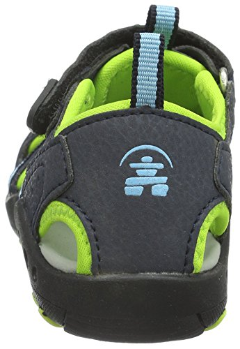 Kamik - Crab, Sandali Unisex – Bambini Blau (BLUE/BLU)
