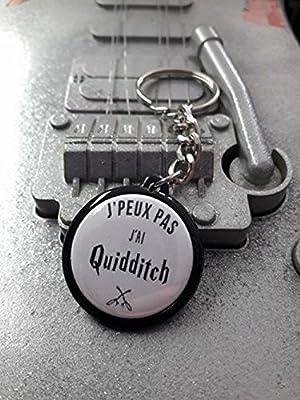 Porte Clé J'peux pas J'ai Quidditch Harry Potter