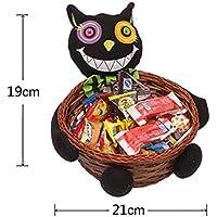 B & Y Goblin Woven Basket zucca di Halloween Candy Holder–Ottimo regalo per bambini Type4